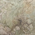 GREEN NATURAL STONE WITH BROWN WHITE BEIGE VEINS
