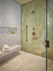Slab Feature Wall
